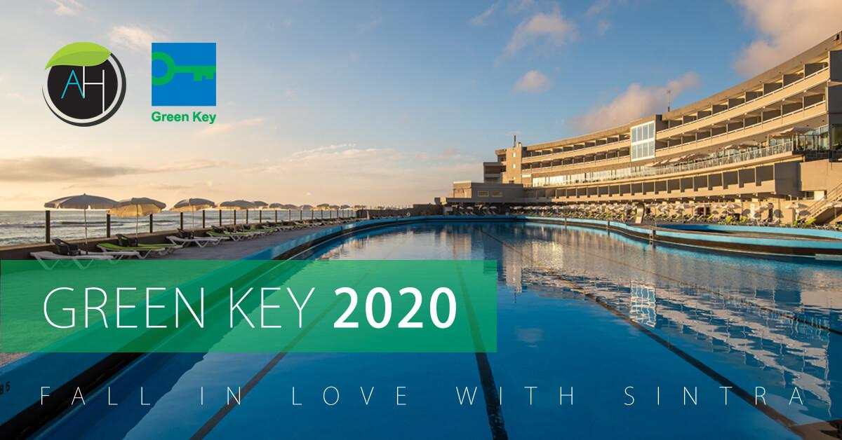 O Arribas Sintra Hotel recebeu o galardão internacional Green Key 2020 que promove o turismo Sustentável em Portugal.