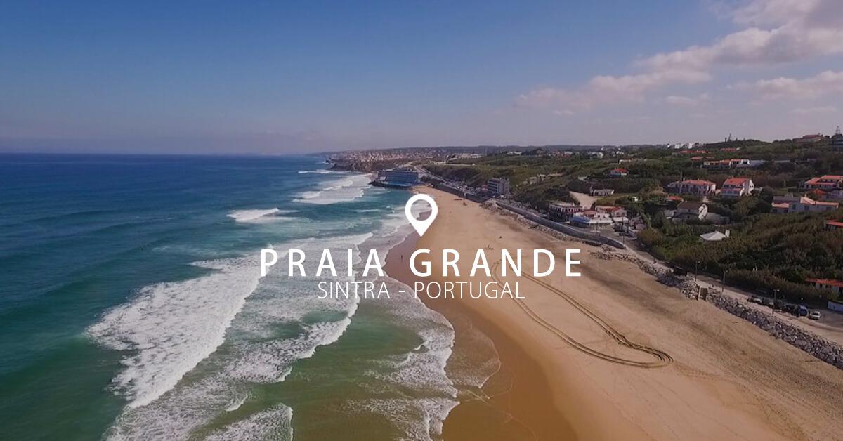 Praia Grande uma praia Zero poluição