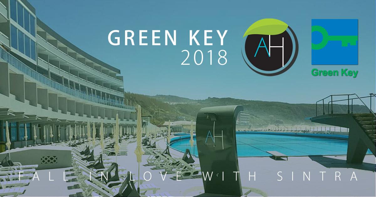 O Arribas Sintra Hotel recebeu o galardão internacional Green Key 2018 que promove o turismo Sustentável em Portugal.