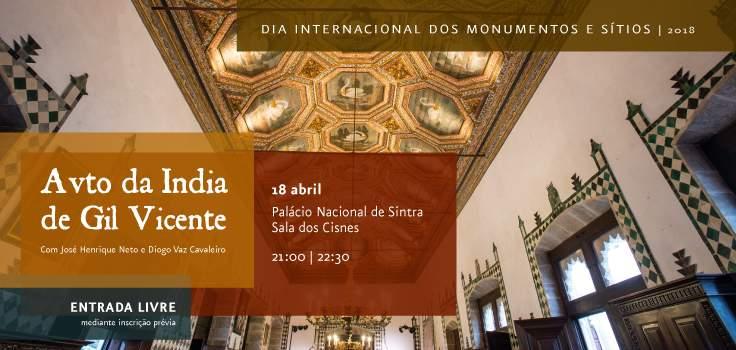 Palácio Nacional de Sintra celebra a 18 de Abril de 2018 o dia internacional dos monumentos e Sítios disponibilizando entradas livre.