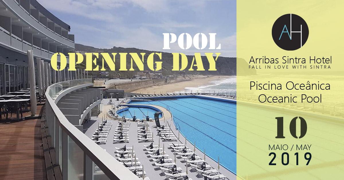 Abre ao público dia 10 de Maio de 2019 a piscina oceânica do Arribas Sintra Hotel, das maiores de Portugal e da Europa. Em Sintra tão perto de Lisboa