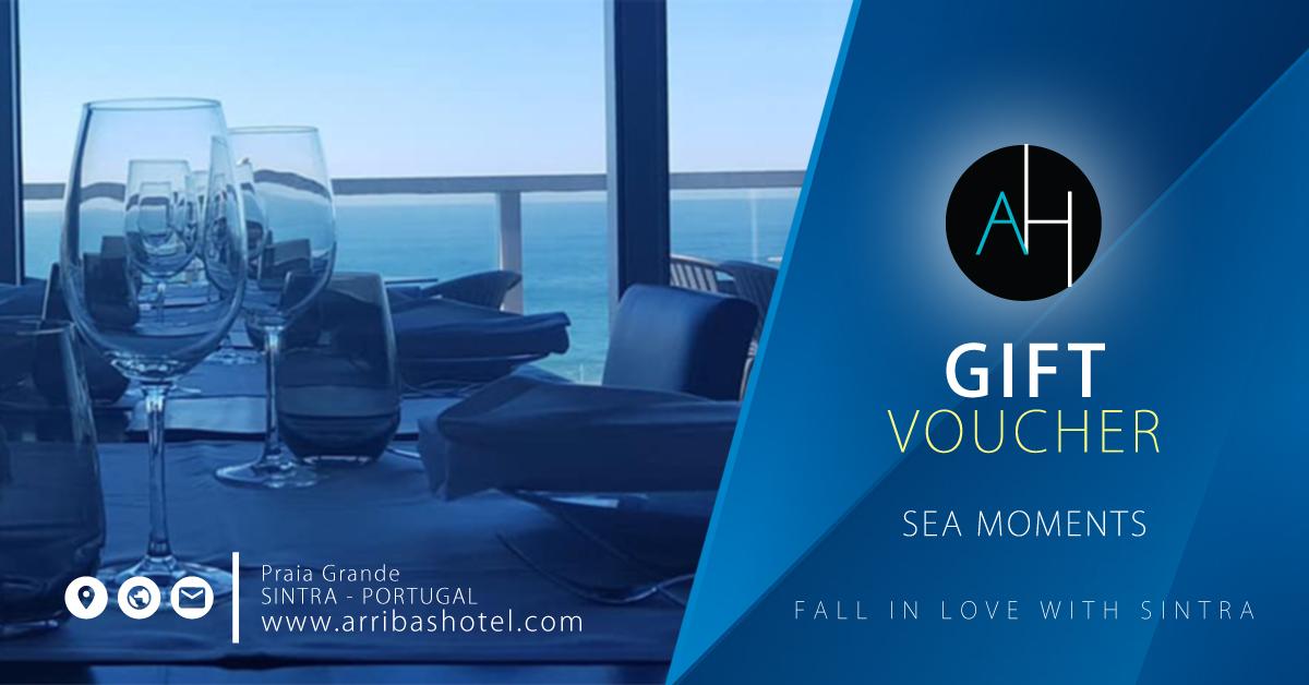 Arribas GIFT Voucher - Momentos Sobre o Mar